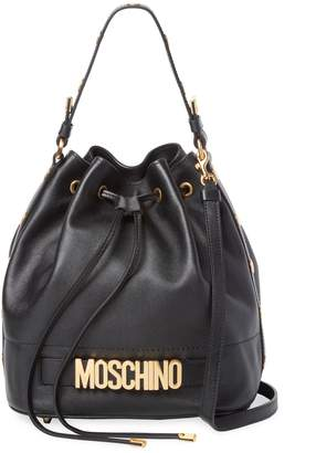 Moschino Women's Leather String Bag
