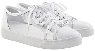 clear Here \u002F Now Vivi Cap Toe Sneaker