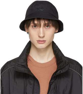 Y-3 Y 3 Reversible Black Logo Bucket Hat