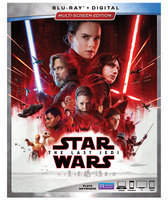 Disney Star Wars: The Last Jedi Blu-ray Multi-Screen Edition with FREE Lithograph Set Offer - Pre-Order