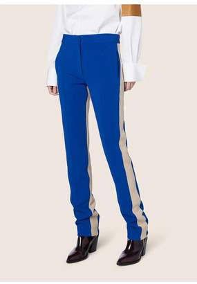 Derek Lam Slim Trouser With Tuxedo Stripe