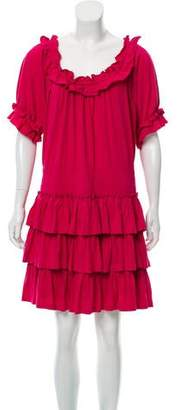 Marc by Marc Jacobs Off-The-Shoulder Mini Dress