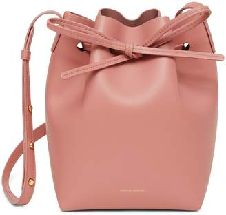 Mansur Gavriel Calf Mini Bucket Bag - Blush