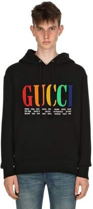 Gucci City Cotton Sweatshirt Hoodie