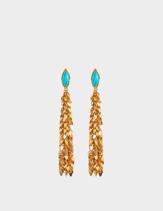 Sylvia Toledano Leaves earrings