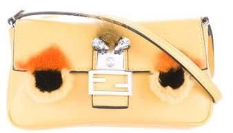 Fendi Bag Bugs Micro Baguette Bag