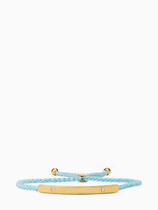 Kate Spade Say yes dream big slider bracelet