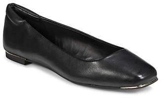 Karl Lagerfeld PARIS Temple Leather Flats