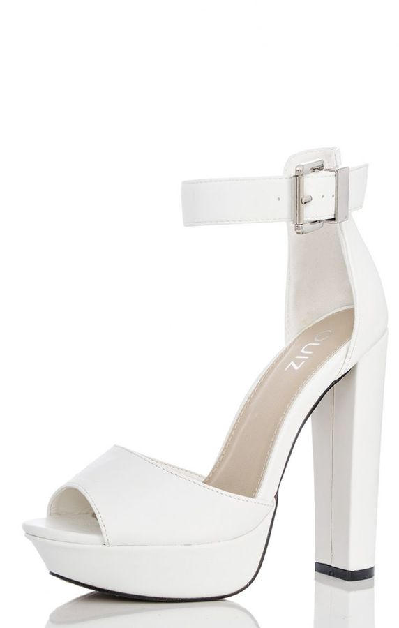 Block Heel Platform Shoes - ShopStyle Australia