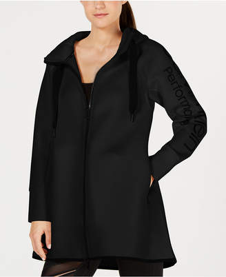 Calvin Klein Dolman-Sleeve Hooded Walker Jacket