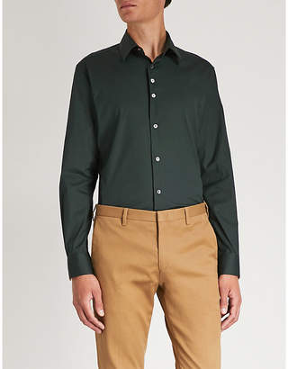 Paul Smith Slim-fit cotton shirt