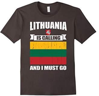 Lithuania calling me gifts T-Shirt