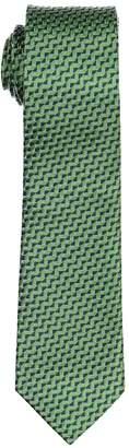 Isaac Mizrahi Embroidered Silk Tie