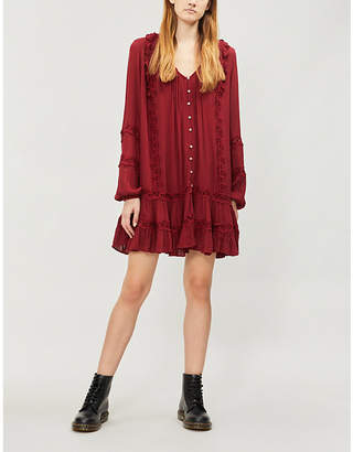 Free People Snow Angel woven dress