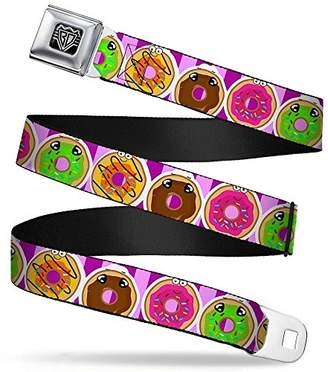 Buckle-Down Unisex-Adults Seatbelt Belt Donuts Regular