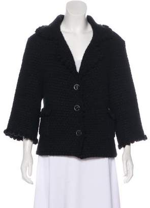 Chanel Cashmere & Mohair Cardigan