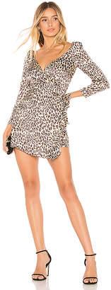 Majorelle Melrose Mini Wrap Dress