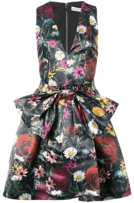 Alice + Olivia Alice+Olivia floral print bow dress