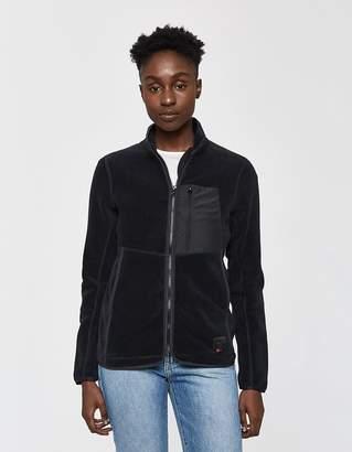 Herschel Light Full Zip Cardigan in Black