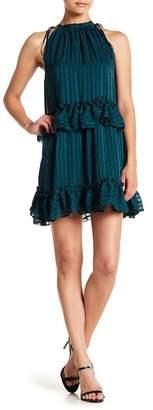 NSR Lila Floral Chiffon Dress
