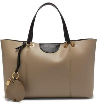 See by Chloe Marty Large Faux Leather Tote Bag - Womens - Grey