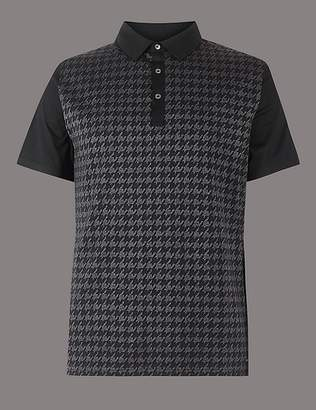 Marks and Spencer Supima® Cotton Textured Polo Shirt