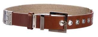 Dolce & Gabbana Leather Hip Belt beige Leather Hip Belt