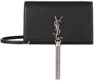 Saint Laurent Small Kate Monogram Tassel Shoulder Bag
