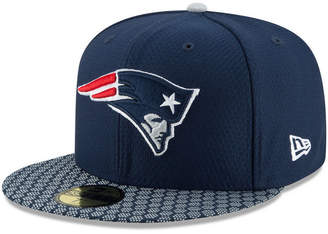 New Era Boys' New England Patriots Sideline 59FIFTY Fitted Cap