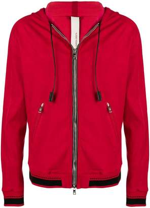 Giorgio Brato hooded zipped jacket