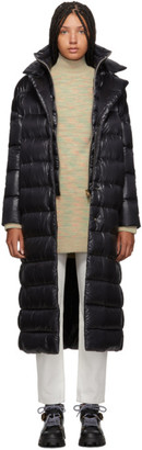 Herno Black Oversized Classic Maxi Coat