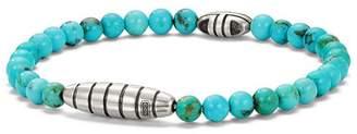 David Yurman Southwest Bead Bracelet with Turquoise