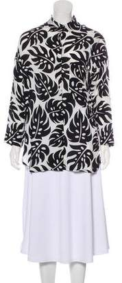 Mikoh Printed Button-Up Tunic w/ Tags