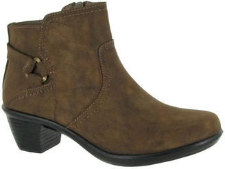 Easy Street Shoes Ankle Boots with Inside Zip -Dawnta