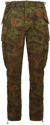 Polo Ralph Lauren Hawaiian Camouflage Cargo Trousers