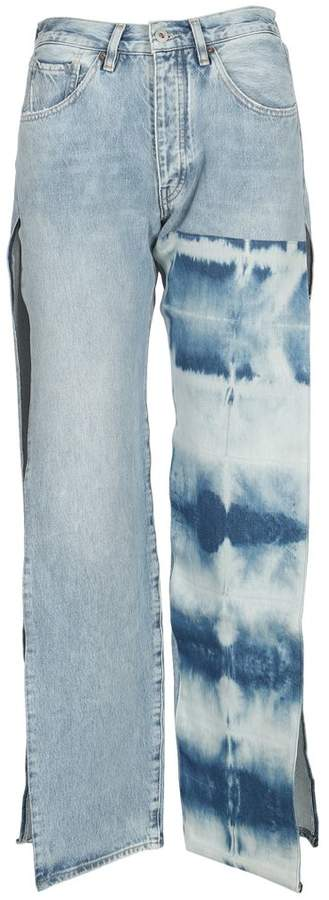 Made & Crafted Dye Side Slit Jeans