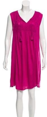Calypso Linen Sleeveless Mini Dress