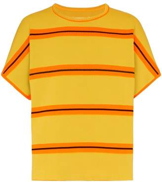 Maison Margiela oversized striped T-shirt
