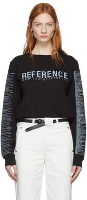 Yang Li Black Long Sleeve Reference 3.0 T-Shirt