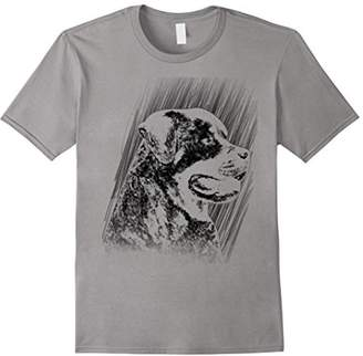 Breed Rottweiler Sketch Dog Tshirt