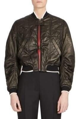 Haider Ackermann Leather Bomber Jacket