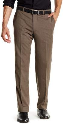 """Tailorbyrd Cavalry Twill Wool Flat Front Pant - 30-34\"""" Inseam"""