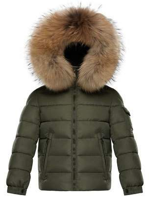 Moncler Boys' Byron Hooded Puffer Jacket, Size 8-14