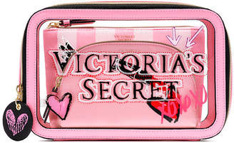 Victoria's Secret Victorias Secret Graffiti Backstage Nested Trio