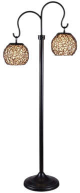 World Menagerie Divita 62 Tree Floor Lamp