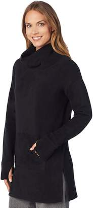 Cuddl Duds Plus Size Stretch Fleece Lounge Tunic