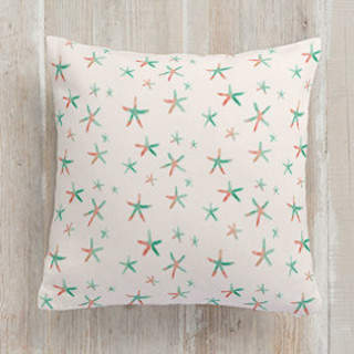 dreamy starfish Square Pillow