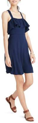 Madewell Apron Ruffle Dress