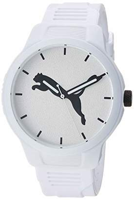Puma Men's Reset Quartz Watch with Polyurethane Strap