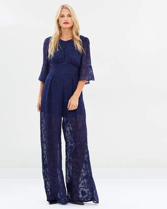 Atmos & Here Ciara Flare Sleeve Jumpsuit